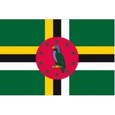 Dominika - Stolní vlajka