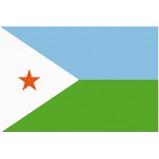 Džibutsko - Stolní vlajka