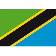 Tanzanie - Stolní vlajka