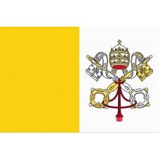 Vatikán - Stolní vlajka