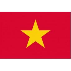 Vietnam - Stolní vlajka