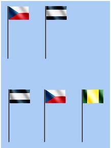 Pořadí vyvěšování vlajek